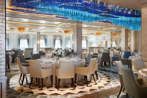 Hidden' Dining Room On The The Seven Seas Explorerroom Is Enchanting Explorer Of The Seas Dining Room Review