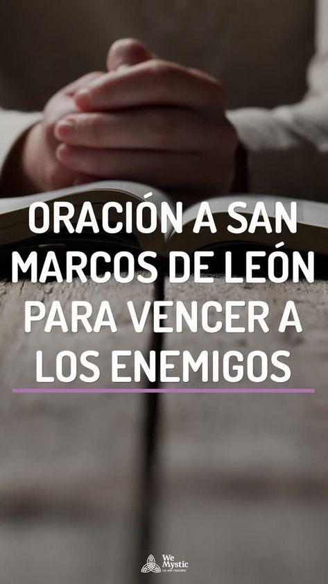 Oración a San Marcos de Leon para vencer a los enemigos