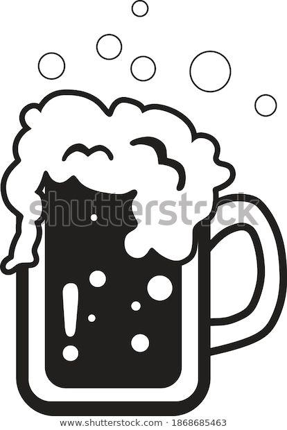 Temukan Gambar Stok Glass Black White Beer Eps Format Beresolusi Hd Dan Jutaan Foto Ilustrasi Dan Vektor Stok Tanpa Royalti Lainny Vector Black And White Eps