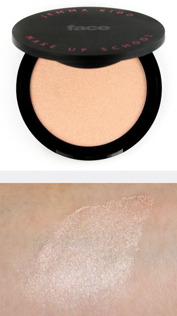 Jemma Kidd Make Up School Dewy Glow All Over Radiance Creme Iced Gold