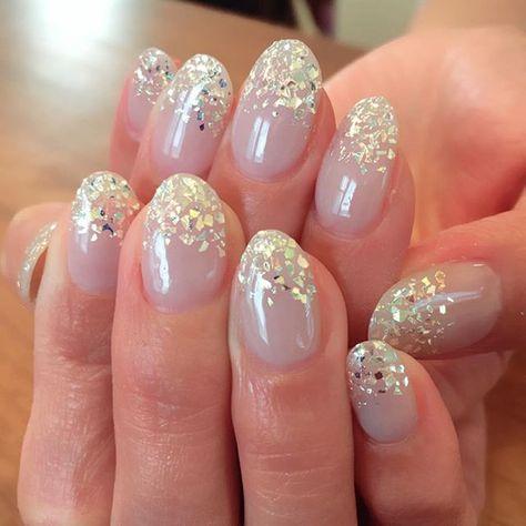 nail ✴︎ キラキラ✨ネイル ・ ・ #キラキラネイル...