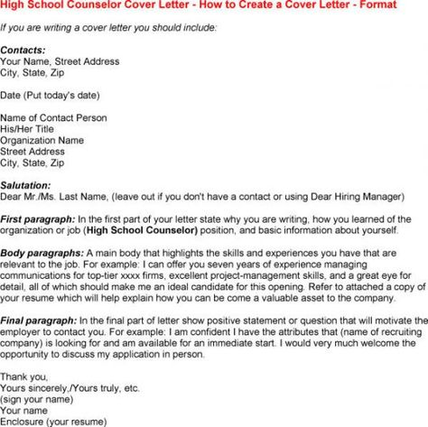 School Counselor Cover Letter resume examples Pinterest - career counselor resume