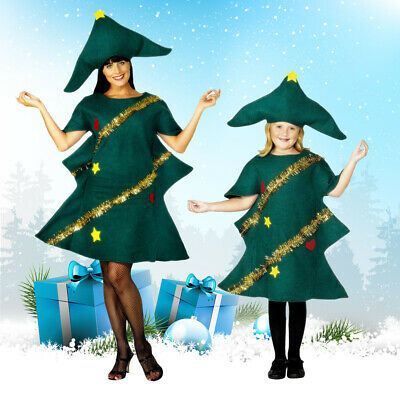 Sponsored Ebay Christmas Tree Mascot Costume Party Dress Outfit Unisex Fancy Adult Xmas Cosplay Tree Fancy Dress Tree Costume Fancy Costumes