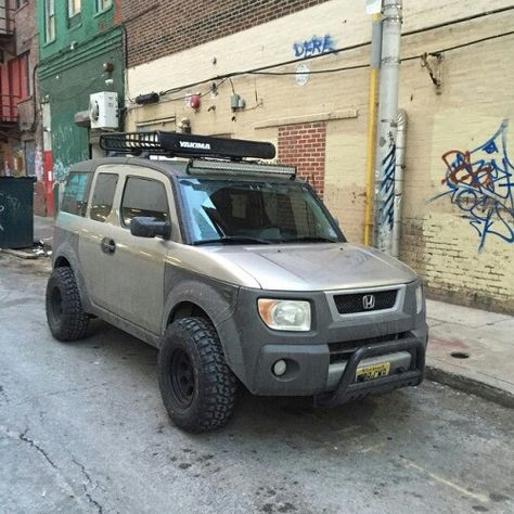 Lifted honda element