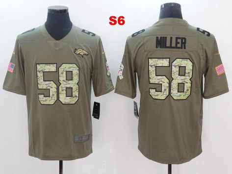 watch c9b0b b0bad Men 58 Von Miller Jersey Football Denver Broncos Jersey ...