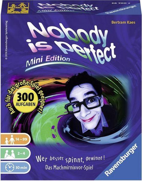 Spiel Nobody Is Perfect Mini Edition Spiele Spiele Fur Unterwegs Und Mini