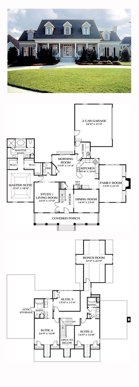 172 best house plans images on Pinterest