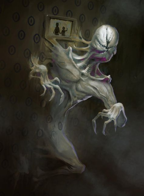 Stranger Things - The Demogorgen by Theclockworkpainter on DeviantArt