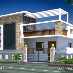 Gorgeous The Best 100 House Plans By Plot Size Image Collections 22 X 40 House Plans Photo House F In 2020 House Elevation 20x40 House Plans House Plans With Photos