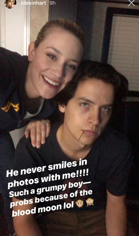 Lili Reinhart Purposely Pestering Cole Sprouse is My New Aesthetic As a Girlfriend