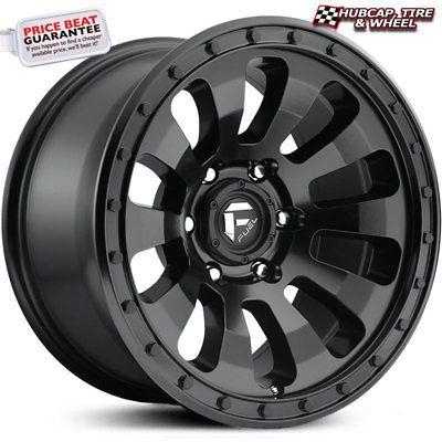 Fuel Off Road D630 Tactic Matte Black 17 034 X9 Wheel One Rim Free Shipping Fuel Wheels Wheel Rims Truck Wheels