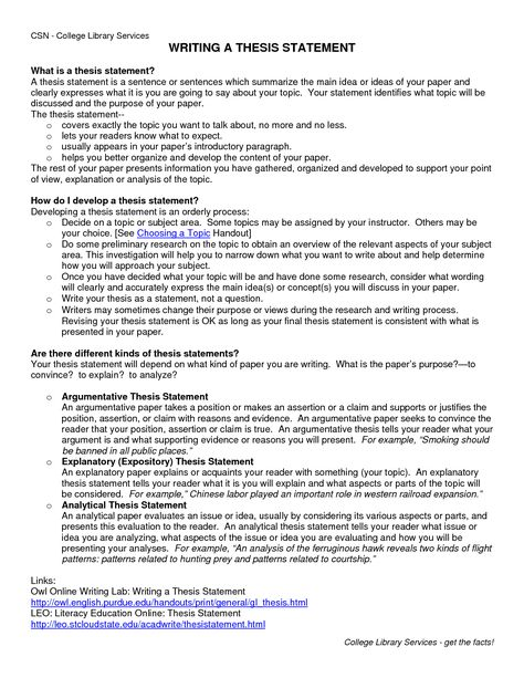 pics photos sample research paper thesis statement how write - thesis statement