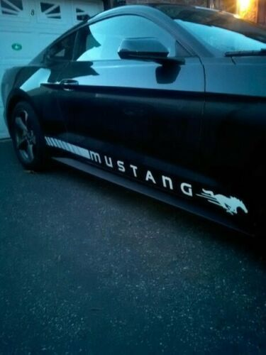 Ford Mustang Rocker Panel Door Side Stripes Decals Rj Strips