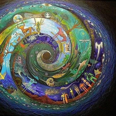 "See one's existence in the context of a universe unified not just in its physical state but also in time. Time is not just a linear condition of loss and gain, but a summative experience that unifies all into a singular moment of ""here, now, and forever."" http://www.wakingtimes.com/2013/12/10/death-dying-shamanic-perspective/"