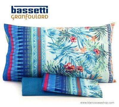Bassetti Granfoulard Copripiumino.Completo Copripiumino Matrimoniale Bassetti Granfoulard V 3