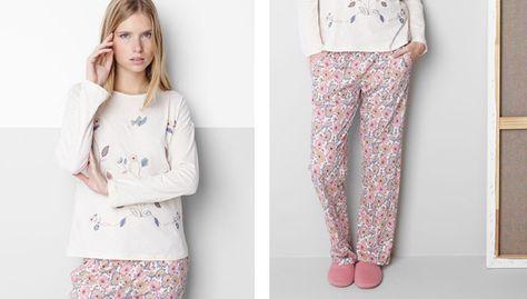 aecbcec5cf Pijamas de Oysho para invierno 2014-2015