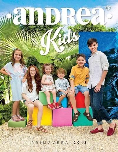 Andrea Kids Primavera 2018 Catalogo De Zapatos Andrea Catalogos Andrea Zapatos Andrea