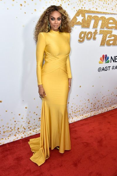 Tyra Banks attends the 'America's Got Talent' Season 13 Live Show.