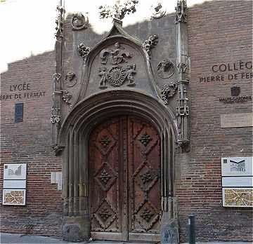 Lycée Pierre de Fermat (Hôtel de Bernuy) à Toulouse
