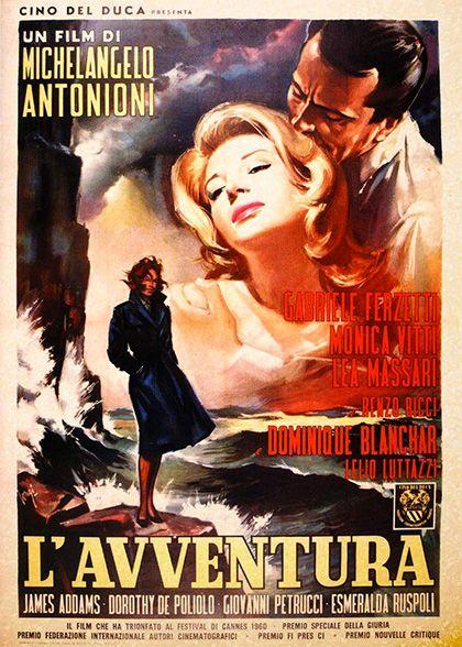 L Avventura 1960 Film Trama Trovacinema Film Poster Di Film Locandine Di Film