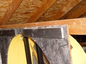 Whole House Fan Blows Away Our A C Bill Whole House Fan House Fan Attic Exhaust Fan
