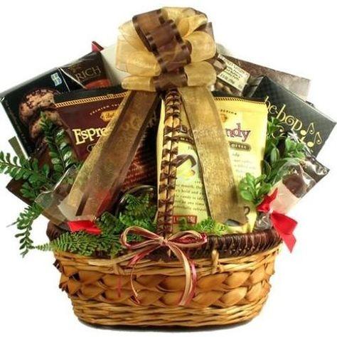 Coffee Break Deluxe Gift Basket Free Shipping