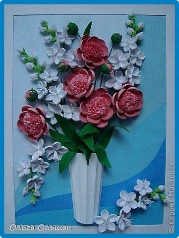 Открытки на день рождения с цветами из салфеток, год картинках прикол