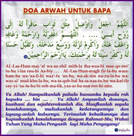 Doa Untuk Orang Tua Yang Sudah Meninggal Dunia Baca Amalkan Dan