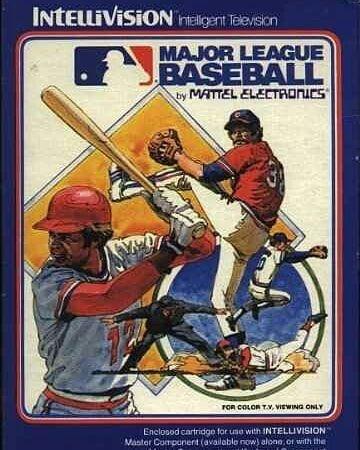 Intellivision Intellivision Mattel Retro Retrotoys Vintage Vintagetoys Toy Toys Juguetes Today Hoy Usa Japan Baseball Major League Baseball League