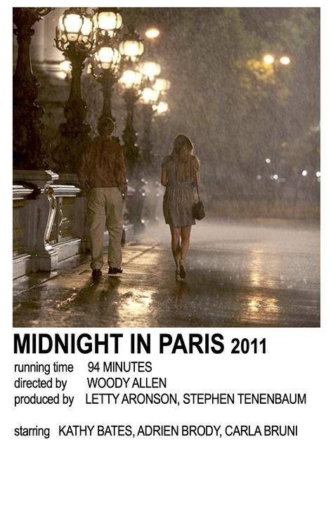 Midnight in Paris Polaroid