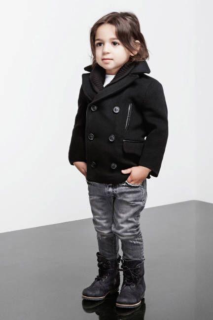 Boy fashion.
