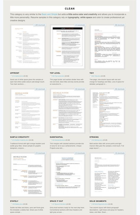 275 Free Microsoft Word Resume Templates | The Muse: 275 Free Resume Templates that work in Microsof...