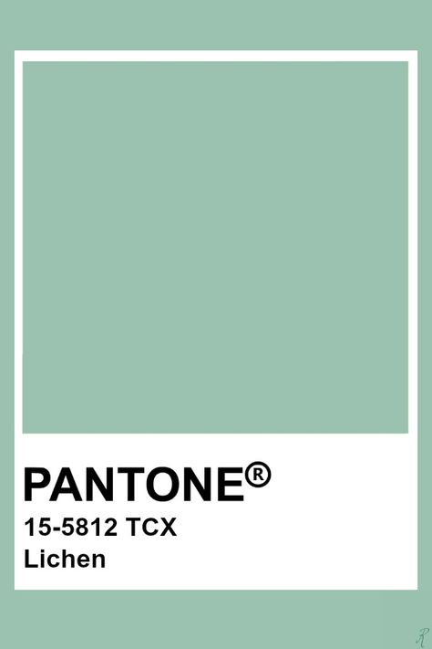 Pantone Lichen