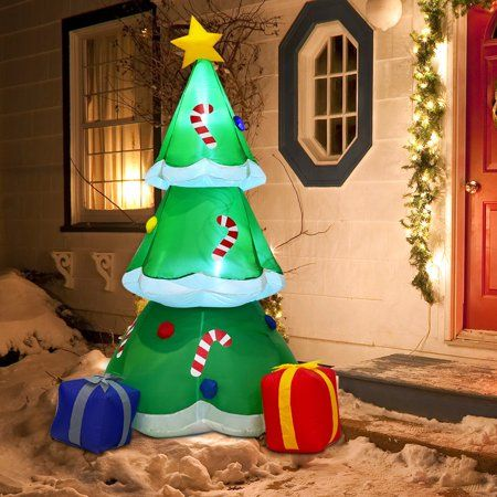 Party Occasions Christmas Tree With Gifts Inflatable