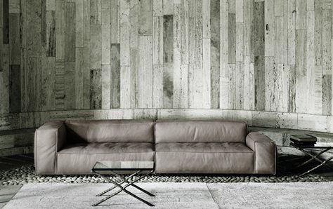 LIVING DIVANI - NEOWALL Sofa (design Piero Lissoni) Sofas - designer couch modelle komfort