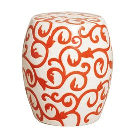 Fabulous Limited Production Design Baroque Vine Garden Stool White Pdpeps Interior Chair Design Pdpepsorg