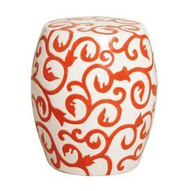 Incredible Limited Production Design Baroque Vine Garden Stool White Machost Co Dining Chair Design Ideas Machostcouk