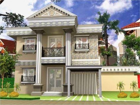 Desain Rumah Minimalis 1 Lantai Ala Eropa - Best Paint Colors