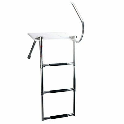 Sponsored Ebay 3 Step Boat Swim Ladder Outboard Transom Ladder