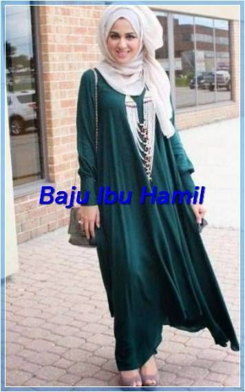 Model Baju Gamis Bulu