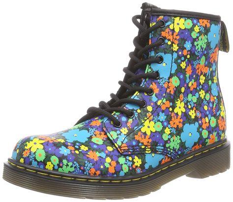 Dr. Martens Girls' DELANEY Wanderflora Boat Shoes: Amazon.co
