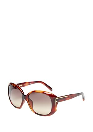 afd1a5353861 On ideel  FENDI 59mm Round Sunglasses with Logo Temple