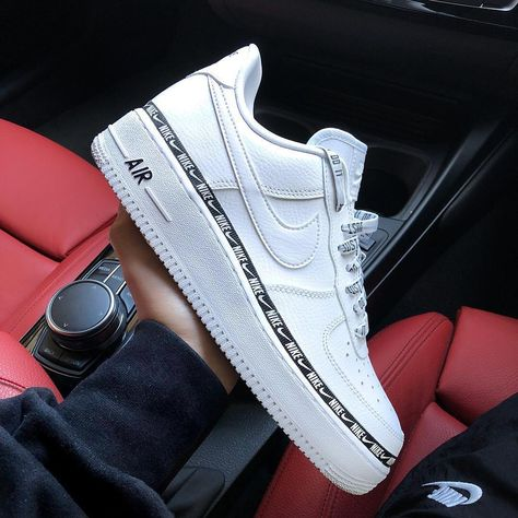 Air Force 1 Low Overbranding White Red Blue Novelship