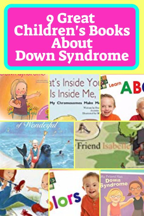 Here are some great children's books about Down syndrome that help explain (simply and beautifully) what Down syndrome is exactly, and how alike we all are