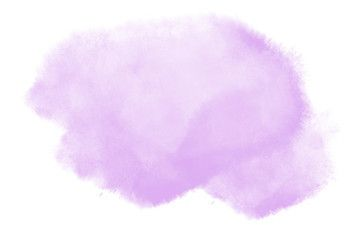 Digital Soft Purple Watercolor Pastel Background Splash Painting
