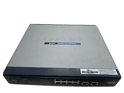Details About Linksys Rv082 100 Mbps 8 Port 10 100 Wired Router In 2020 Wired Router Linksys Router