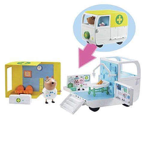 Peppa Pig 6722 Mobile Medical Centre Multi Amazon Fr Jeux