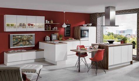 Küche norina 2615 weiss grifflos