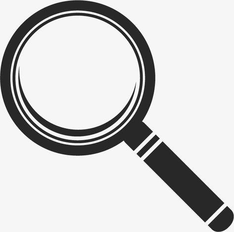 Vector Magnifying Glass Png And Vector Magnifying Glass Magnifier Painting Logo