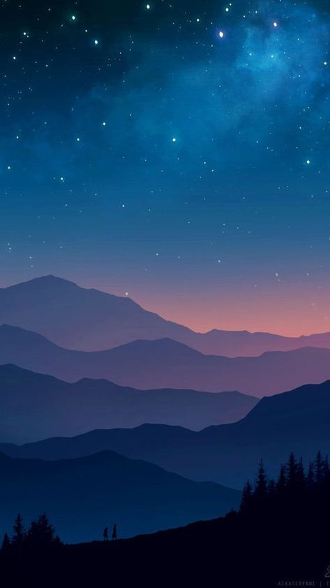 Forest River Sky View iPhone Wallpaper - iPhone Wallpapers